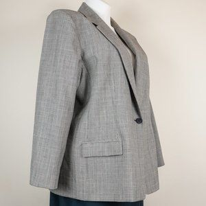 Pendleton Jackets & Coats - 3/$20 Pendleton Blazer Virgin Wool Glen Check Gray